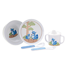 Reed and Barton Hazelnut Hollow Raccoon Childrens Set