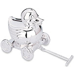 Reed and Barton Silver Something Duckie Bank