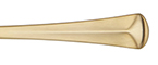 Baguette Gold Reed & Barton Stainless Flatware