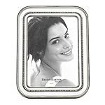Reed & Barton Heritage Collection Banded Bead 5x7 Picture Frame