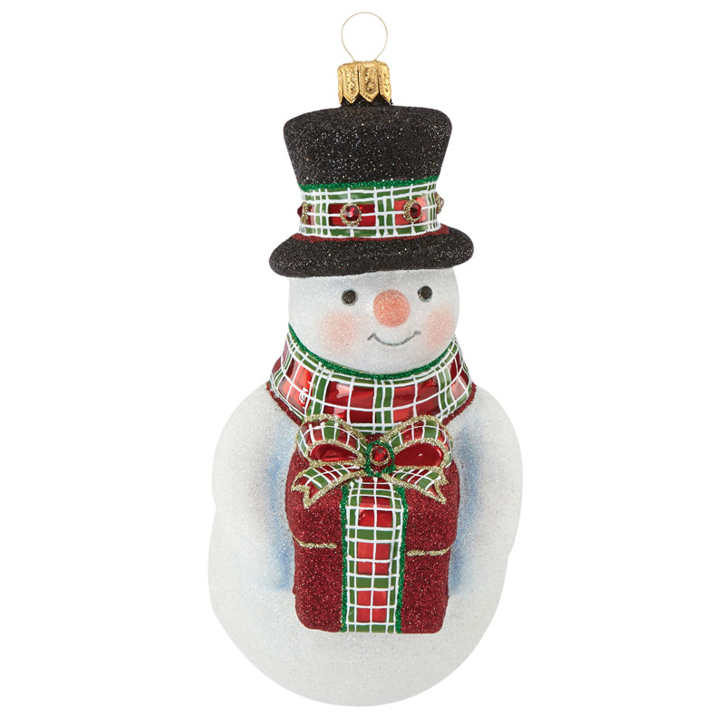 Reed and Barton Gifting Snowman 2016 | Christmas Ornament ...