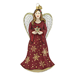 Reed and Barton Angel and Star Christmas Ornament