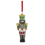 Reed and Barton Nutcracker with Drum Christmas Ornament