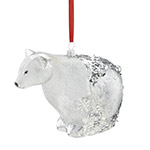 Reed and Barton Polar Bear Christmas Ornament