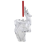 Reed and Barton Reindeer Christmas Ornament