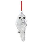 Reed and Barton Snow Owl Christmas Ornament