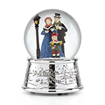 Reed and Barton Carolers Village Snow Globe