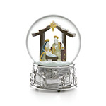 Reed and Barton Nativity Snowglobe
