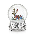 Reed and Barton Snow Days Ice Skating Snowglobe