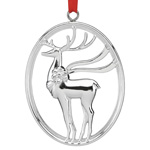 Reed and Barton North Pole Bound Reindeer ornament