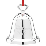 Christmas Bell 2016 Ornament | Reed and Barton Christmas Ornament | Silver Bell