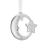 2017 Reed and arton Baby's First Christmas Blue Moon Ornament