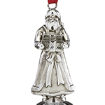 Reed and Barton 2018 Noel Musical Bell Christmas Finial Santa Decoration | Reed and Barton Ornaments