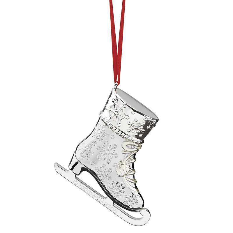 Reed and Barton 2018 Snow Days Ice Skate Christmas Tree Decoration | Reed and Barton Ornaments