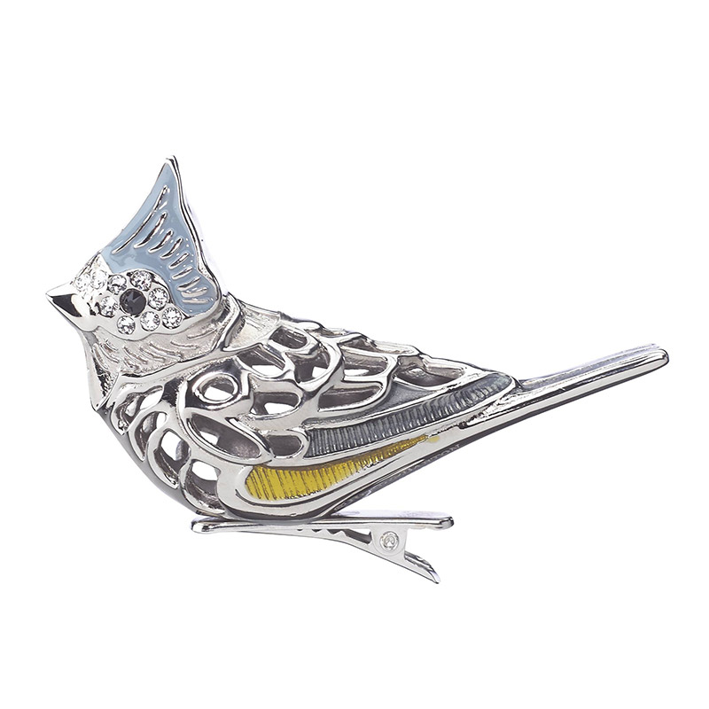 Reed and Barton 2018 Tufted Titmouse Bird Clip Christmas Tree Decoration | Reed and Barton Ornaments