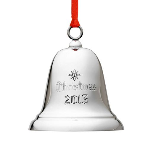 Reed barton annual sterling bell ornament