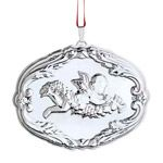 2014 Reed and Barton Francis I Songs of Christmas Sterling Silver Christmas Ornament