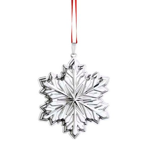 2014 Reed And Barton Holiday Snowflake Sterling Siver Ornament