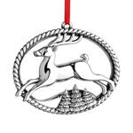 2015 Williamsburg Annual Sterling Silver Christmas Ornament