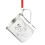 2016 Reed and Barton Williamsburg Baby's First Christmas Cup Sterling Ornament