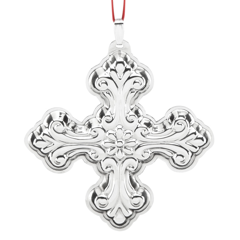 Silver Cross 2016 | Reed and Barton Christmas Ornament ...