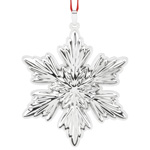 2016 Reed and Barton Holiday Snowflake Sterling Silver Ornament