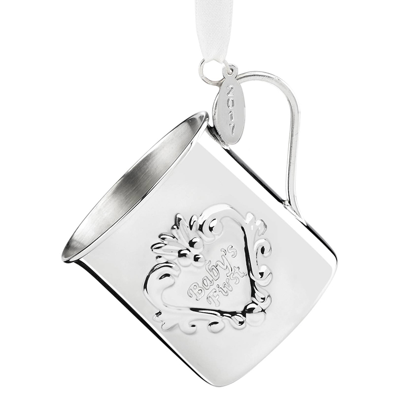 Baby S First Christmas Cup 2017 Sterling Silver Reed