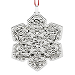 2017 Reed and Barton Francis I Annual Sterling Silver Christmas Ornament