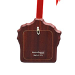 Reed and Barton  Holiday Ribbon Picture Frame Ornament Christmas Tree Decoration | Reed and Barton Ornaments