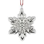 Reed & Barton Holiday Star Sterling Silver Christmas Ornament