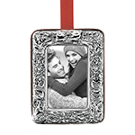 Poinsettia Picture Frame Ornament