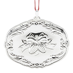 2017 Reed and Barton Francis I Songs of Christmas Sterling Silver Christmas Ornament