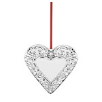 2018 Reed and Barton Annual Heart, 1st Edition Ornament