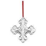 2018 Reed and Barton Annual Christmas Cross Sterling Silver Ornament
