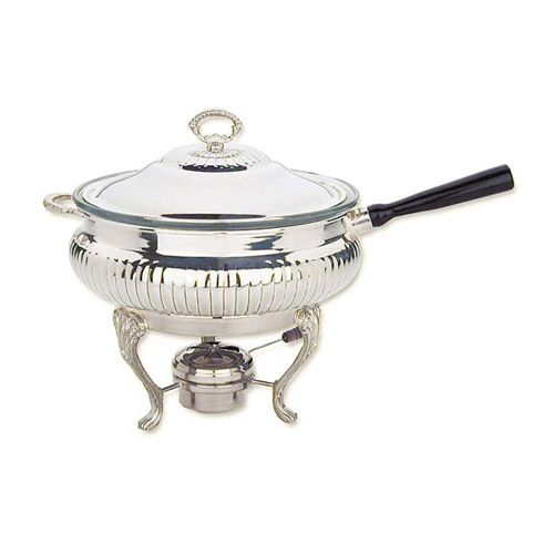 Reed u0026 Barton Queen Anne Silver Plate Chafing Dish  sc 1 st  Silver Superstore & Reed u0026 Barton Queen Anne Silver Plate 3 Quart Chafing Dish