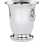 Reed and Barton Silver Lion's Head Wine Cooler