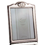 Ricci 25th Anniversary Sterling Silver Picture Frame