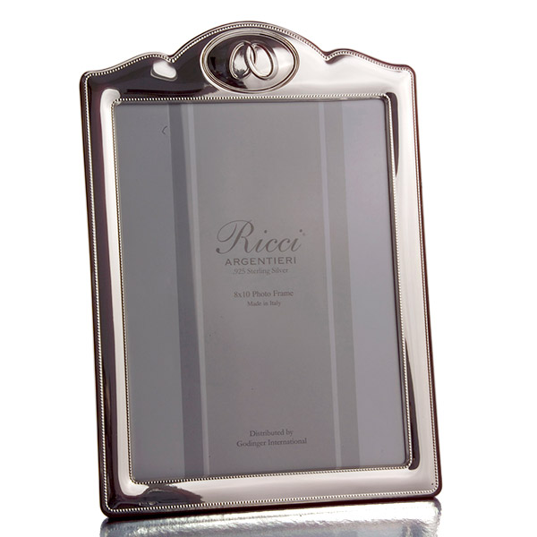 Joined Together Sterling silver picture frame by Ricci