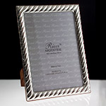 Ricci Spirale Sterling Silver Picture Frame