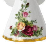 Old Country Roses Angel | Royal Albert  Christmas Tree Decoration | Angel Ornament