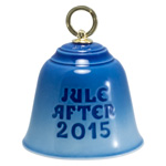 2015 Bing and Grondahl Annual Christmas Bell by Royal Copenhagen - Reverse Side