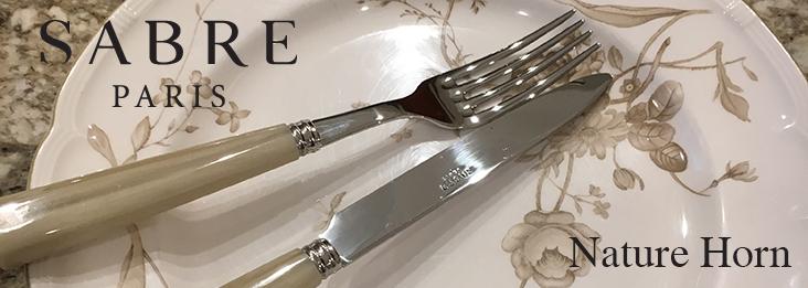 Sabre Nature Horn Stainless Steel Flatware Silverware