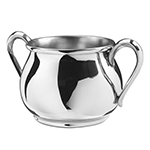Bulged Pewter Baby Cup by Salisbury Pewter