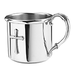 Easton Cross Pewter Baby Cup by Salisbury Pewter
