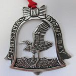2014 Salisbury Christmas by the Bay Pewter Christmas Ornament