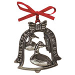 Salisbury Pewter 2016 Christmas By The Bay Ornament