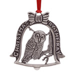 Salisbury Christmas by the Bay - Owl 2017 Ornament | Salisbury Christmas Ornament | Christmas Bell