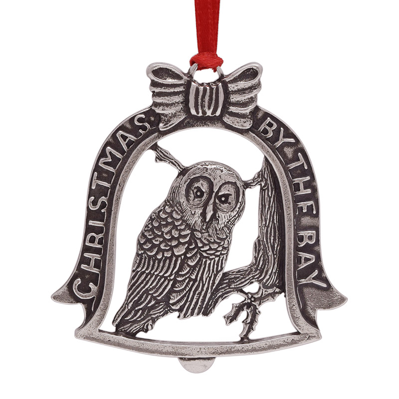 2017 Christmas by the Bay - Owl | Salisbury Christmas Tree Decoration | Christmas Bell