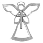 Salisbury Pewter Archangel Zedkiel Ornament - Angel of Faith