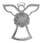 Salisbury Pewter Archangel Uriel Ornament - Angel of Light